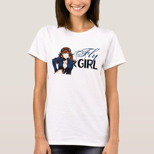 Anime Fly Girl T-Shirt