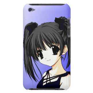 Anime Girl Blue iPod Touch Case