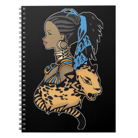 Anime Girl Cartoon Journal Notebook