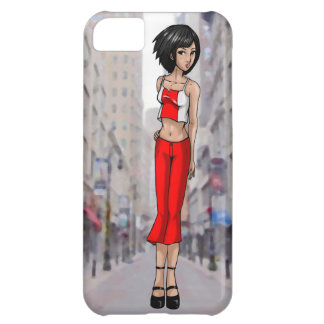 Anime Girl Going Places iPhone 5C Case