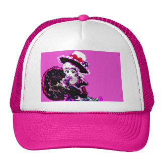 Anime Girl Manga Kawaii Decora Emo Gothic Punk Cap