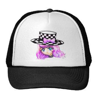 Anime Girl Manga Punk Lolita Harajuku Gothic Style Mesh Hat