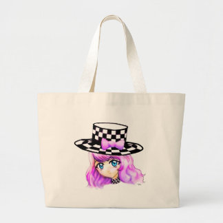 Anime Girl Manga Punk Lolita Harajuku Gothic Style Jumbo Tote Bag