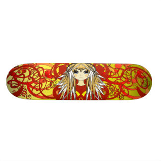 Anime Girls Skate Boards