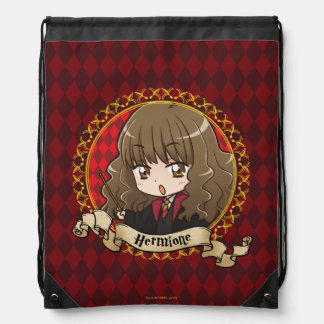 Anime Hermione Granger Drawstring Bag