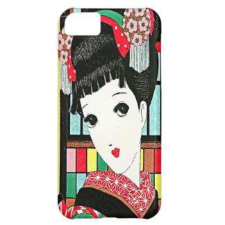 Anime Japanese Beauty iPhone 5 Case