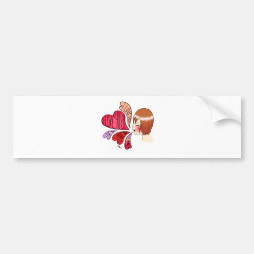 Anime Love Bumper Stickers