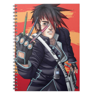 Anime Manga Artist Notebook