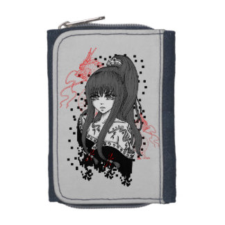 Anime/Manga Girl with Asian dragee ONS Wallets