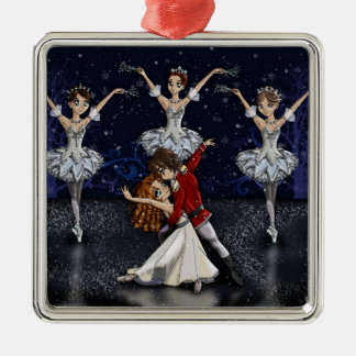 Anime Nutcracker Snowflakes Ornament