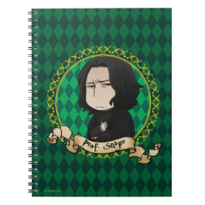 Anime Professor Snape Notebook