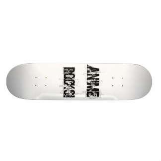 AniMe , RocKs! 20.6 Cm Skateboard Deck