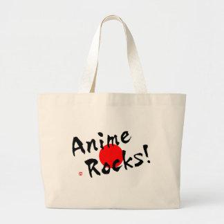 Anime Rocks! Jumbo Tote Bag