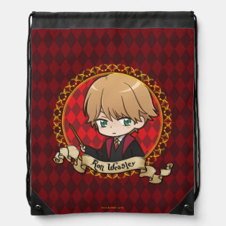 Anime Ron Weasley Drawstring Bag