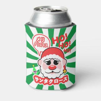 Anime Santa Christmas Can Cooler