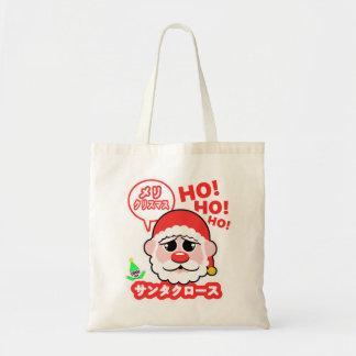 Anime Santa Christmas Tote Bag