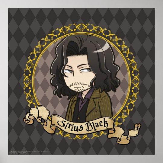 Anime Sirius Black Poster