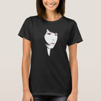 Anime Style Face T-Shirt