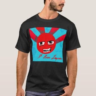 anime style i love japan t-shirt