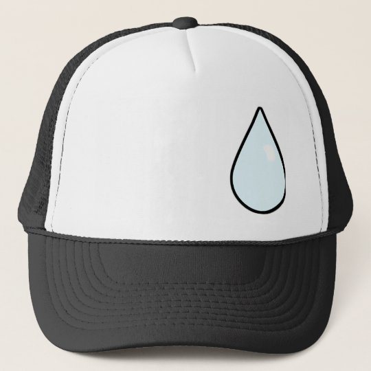 Anime Sweatdrop Trucker Hat