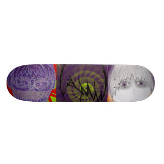 Anime Trilogy 19.7 Cm Skateboard Deck