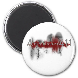 Anime's Appearance 6 Cm Round Magnet