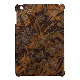 Anini Beach Faux Wood Hawaiian iPad Mini Cases