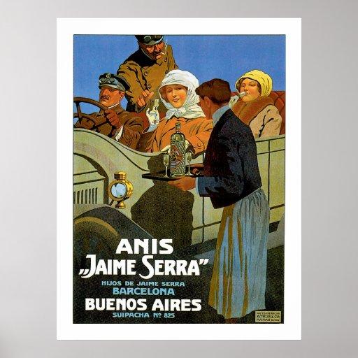 "Anis ""Jaime Serra"" Posters"