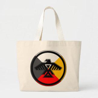 Anishinaabe Thunderbird Tote Bags