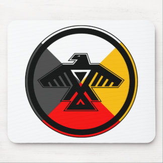 Anishinaabe Thunderbird in the Four Directions Mouse Pad