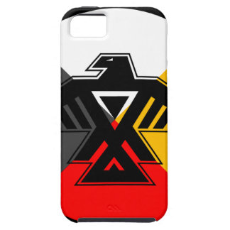 Anishinaabe Thunderbird in the Four Directions Tough iPhone 5 Case