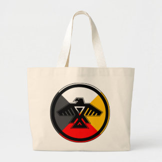 Anishinaabe Thunderbird Jumbo Tote Bag