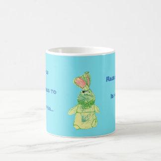 Anita Bunny Coffee Blue Mug All Options Basic White Mug