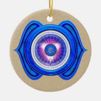 Anja or Third Eye the 6th Chakra Christmas Ornament