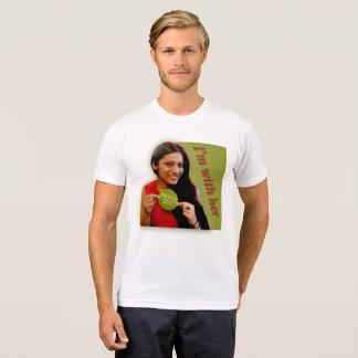Anjana 2017! UK! I'm With Her! T-Shirt