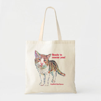 Anjellicle Cats Ready to Rescue You Tote--Bravo Tote Bag