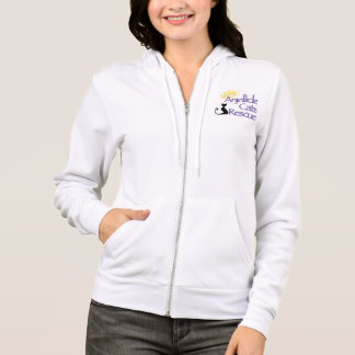 Anjellicle Cats Rescue Hoodie - White