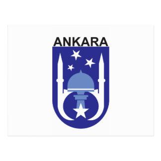Ankara Flag Postcard
