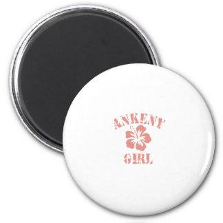 Ankeny Pink Girl Fridge Magnet