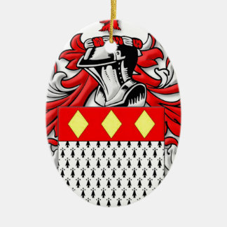 Ankers Coat of Arms Ceramic Oval Decoration