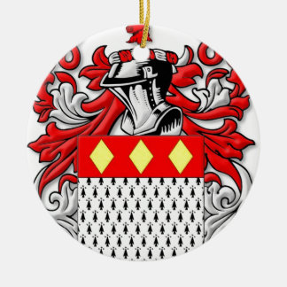 Ankers Coat of Arms Round Ceramic Decoration