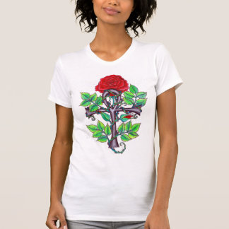 Ankh and Rose T-Shirt