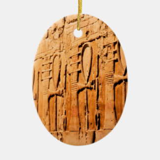 Ankh carvings.jpg ceramic oval decoration