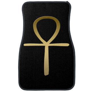 Ankh cross Egyptian symbol Car Mat