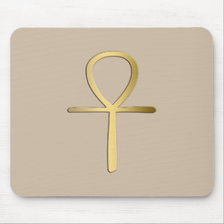 Ankh cross Egyptian symbol Mouse Pad