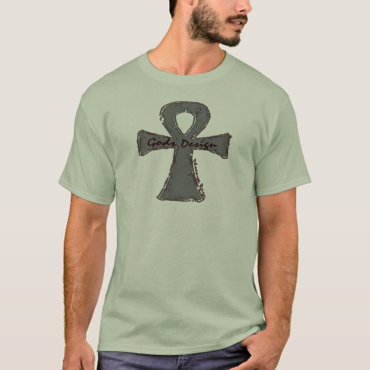 Ankh Gods Design T-Shirt