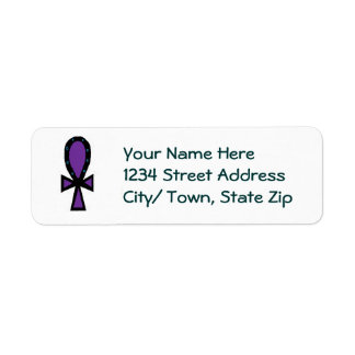 Ankh Return Address Label