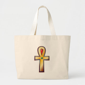 Ankh- The Ancient Egyptian Symbol of Life Large Tote Bag