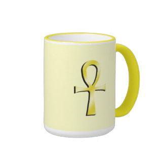 Ankh Yellow Mug