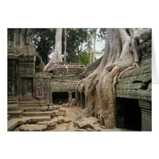 Ankor Wat Cambodia Blank Card